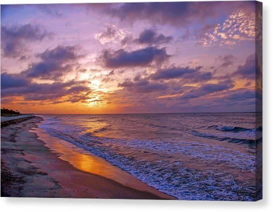 Summer Sunrise On Edisto Island Canvas Print
