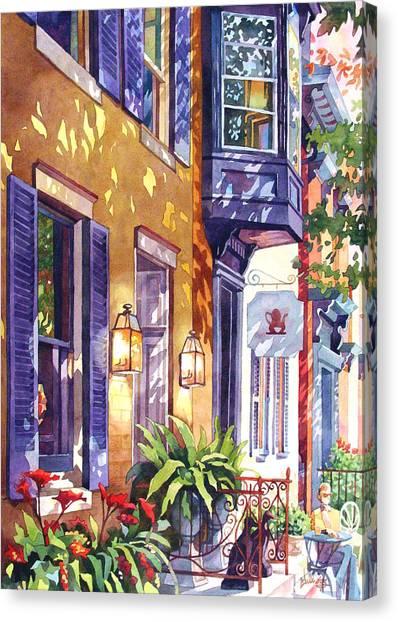 Summer Tea Canvas Print