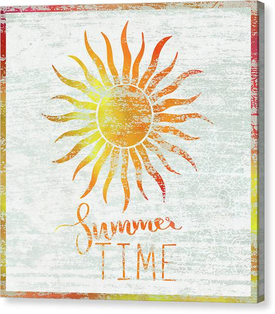 Summertime Canvas Print - Summer Time by Cora Niele