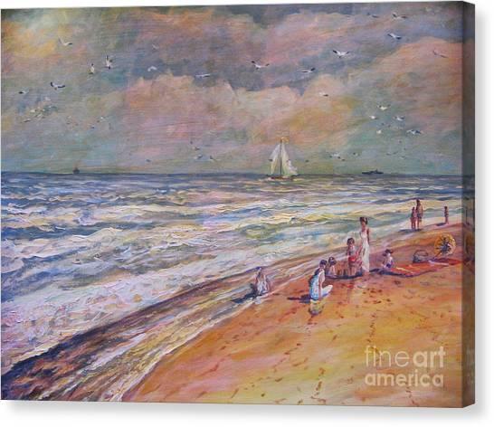 Summer Vacations Canvas Print