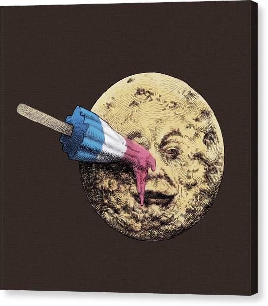 Rocket Canvas Print - Summer Voyage by Eric Fan