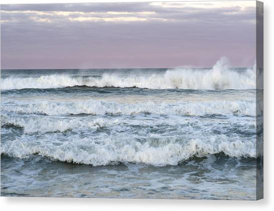 Summer Waves Seaside New Jersey Canvas Print