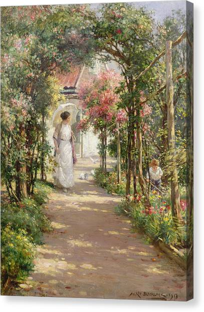 Arbor Canvas Print - Summer by William Kay Blacklock