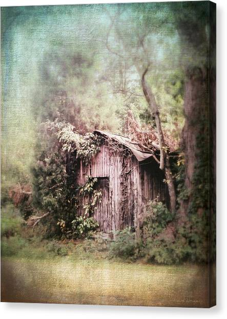 Summerfield Shed Canvas Print