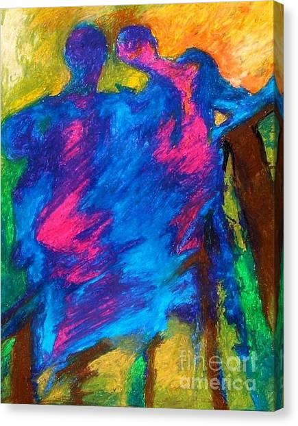 Summershadow Canvas Print