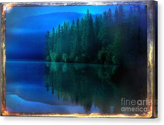 Summertime Blues Canvas Print by The Stone Age