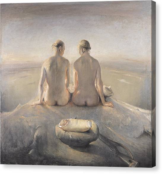Baroque Art Canvas Print - Summit by Odd Nerdrum