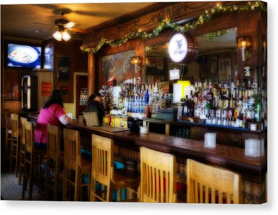 Sumneytown Bar Canvas Print