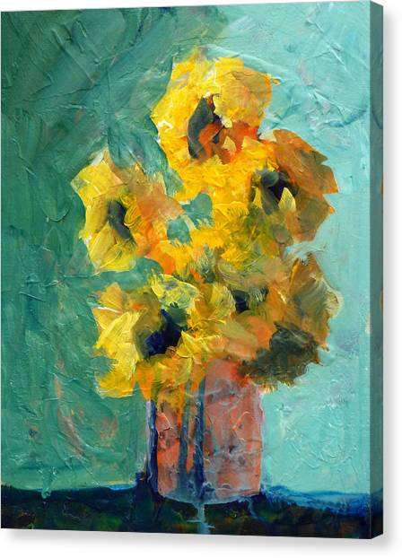Crocks Canvas Print - Sun And Shadow by Nancy Merkle