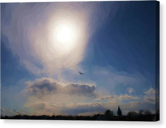 Sun And Skies Canvas Print