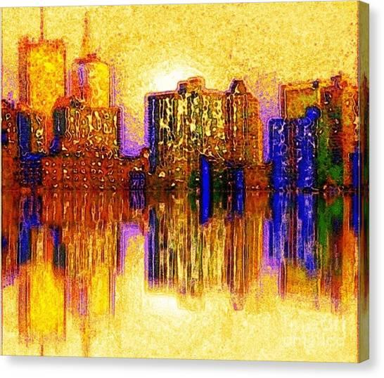 New York Heat Canvas Print