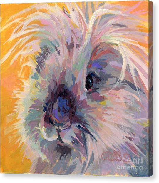 Knot Canvas Print - Sun Bun by Kimberly Santini