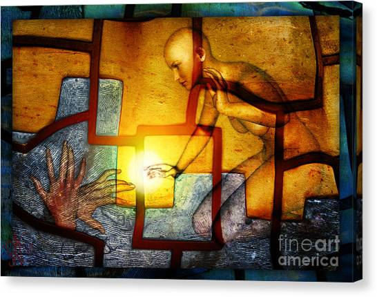 Sun Catcher Canvas Print