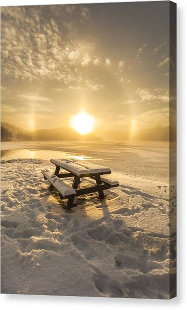 Sun Dog Canvas Print