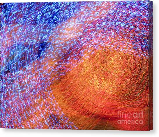 Sun Eye Canvas Print