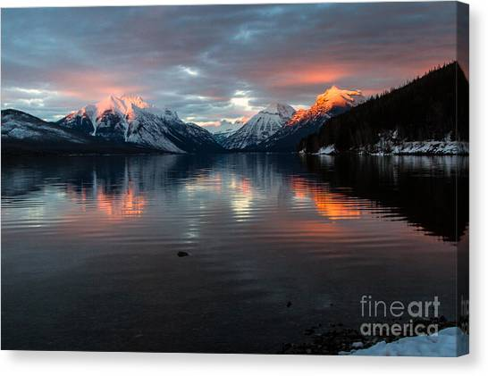Sun Kissed 2 Canvas Print by Katie LaSalle-Lowery