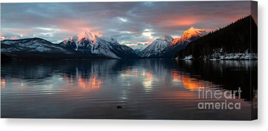 Sun Kissed 2  Pano Crop Canvas Print by Katie LaSalle-Lowery