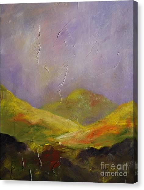 Sun Kissed Connemara Canvas Print