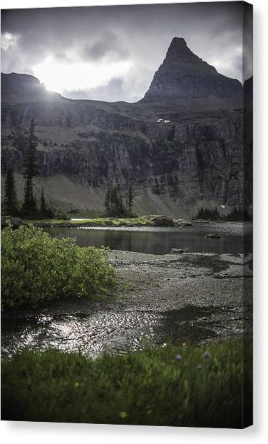 Sun Peeking Through Canvas Print
