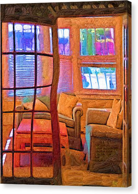 Sun Porch Canvas Print