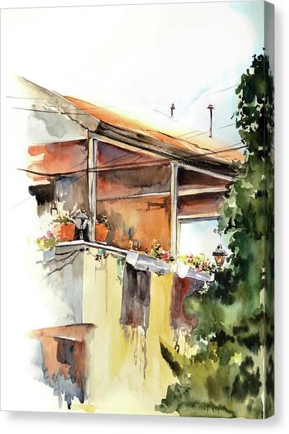 Sun Porch Canvas Print by Sophia Rodionov