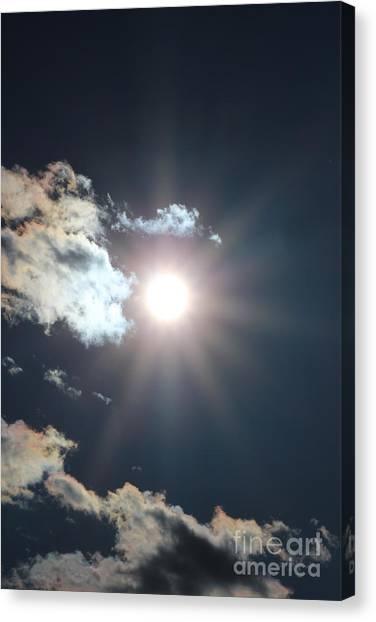 Sun Ray 2 Canvas Print by Brenda Henley