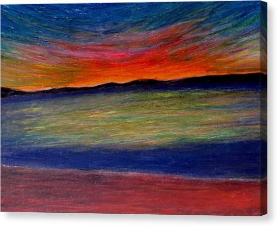 Sun-rest Canvas Print