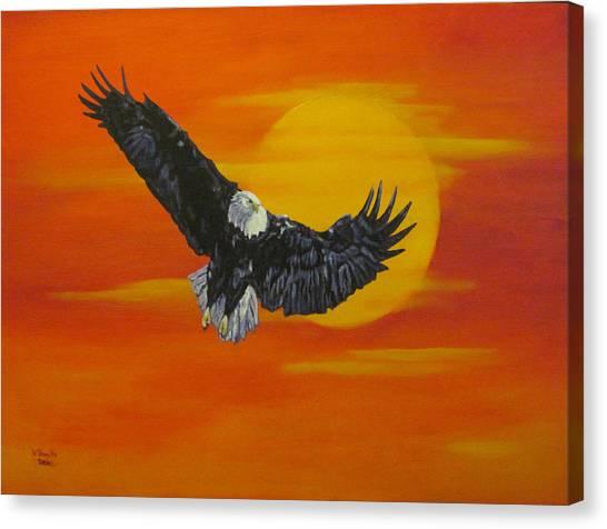 Sun Riser Canvas Print