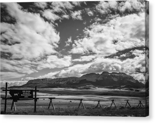 Sun River Wildlife Management Area Canvas Print