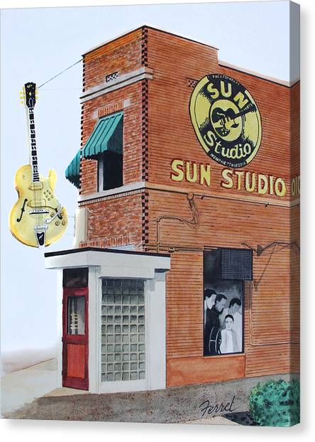 Sun Studio Canvas Print