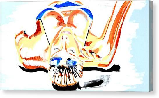 Sunbathe Canvas Print