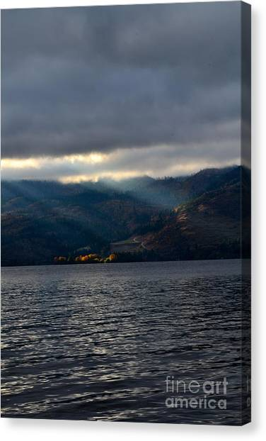 Sunbeams On The Mission  Canvas Print by Phil Dionne