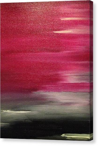 Sundae Ox-bloody Sundae Canvas Print by Christopher Toro