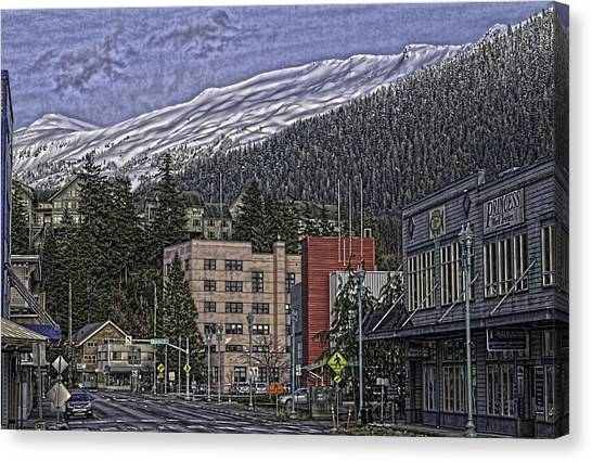 Sunday Morning In Ketchikan Canvas Print