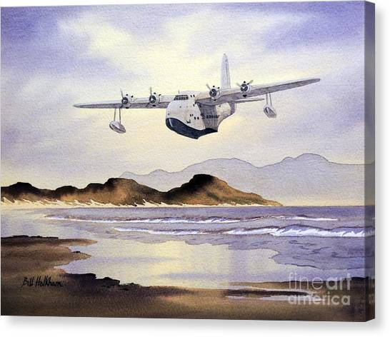 Sunderland Canvas Print - Sunderland Over Scotland by Bill Holkham