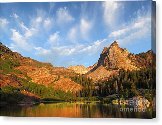 Sundial Peak Canvas Print