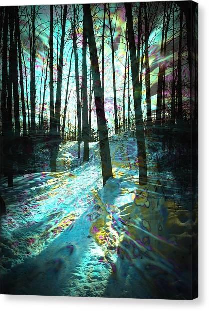 Sundog Reflections Canvas Print