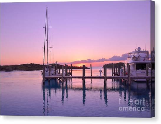 Sundown Serenity Canvas Print