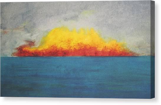 Sunfire Canvas Print