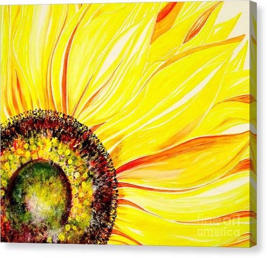 Sunflower Day Canvas Print