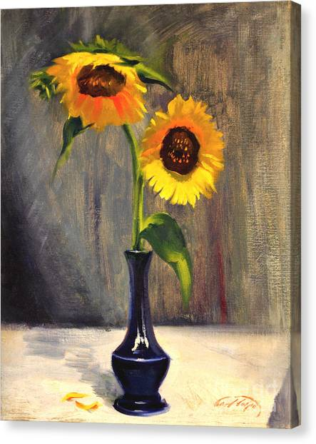 Sunflowers - Adoration Canvas Print