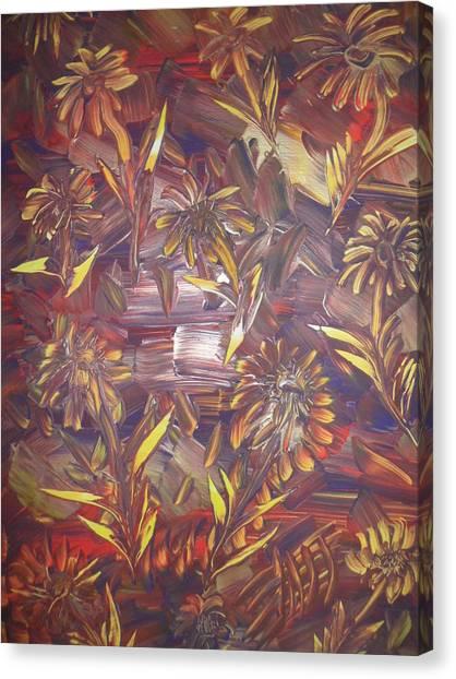 Sunflowers Canvas Print by Nico Bielow