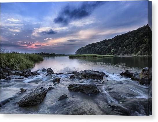 Sunken Meadow Morning Canvas Print