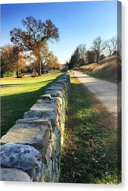 Sunken Road Canvas Print