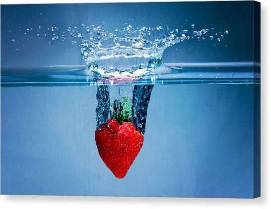 Sunken Strawberry Canvas Print