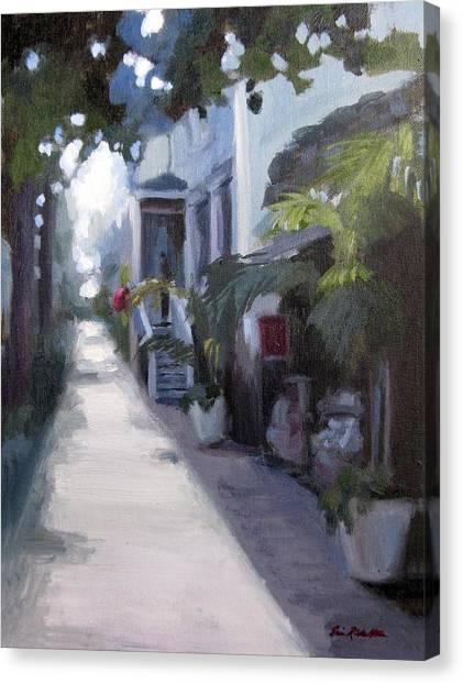 Sunlit Savannah Canvas Print