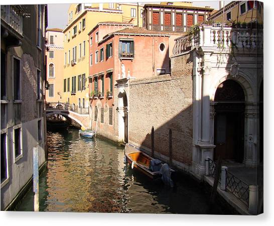Venice Sunny Afternoon Canvas Print
