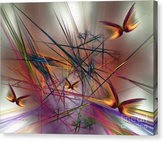 Sunny Day-abstract Art Canvas Print