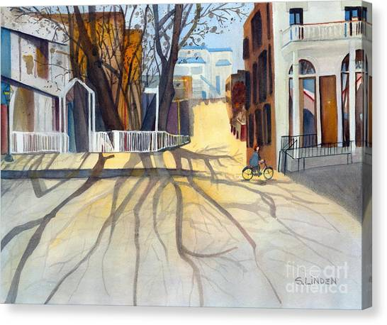 Sunny December Afternoon Canvas Print