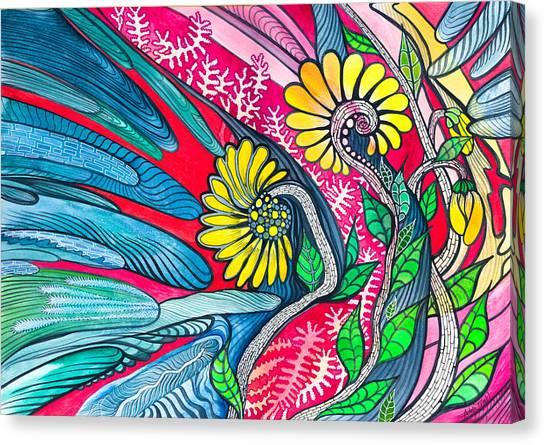 Sunny Spring Canvas Print